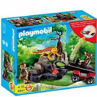 Playmobil 4847 Treasure Hunter with Metal Detector New in Box