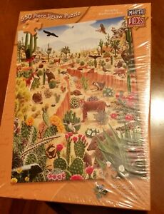 """Jigsaw puzzle """"Last Oasis"""" by Master Pieces 550 pcs18x24"""" New, in Shrinkwrap"""