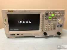 Dsa815 Rigol Rf Spectrum Analyzer 9 kHz To 1.5 Ghz Compact Lightweight New!