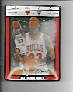 1998 Upper Deck Bradford Exchange Michael Jordan Ticket to Greatness 7th Issue