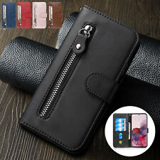 For Samsung Galaxy Note 10 Plus S20 Ultra S10 S9 Leather Wallet Stand Case Cover