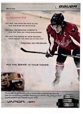 Alexander Ovechkin Bauer Vapor APX Hockey Stick 2011 Print Advertisement