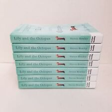 Lot of 7 LILY and the OCTOPUS Steven Rowley great for book club!
