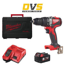 Milwaukee M18BLPD2-501X Cordless M18 Brushless Percussion Drill & Accessories