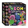 Childrens Craft Sets - NEON Pebble Painting Kit - Includes Pebbles Paint & Brush