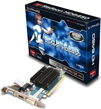 Schede video e grafiche AMD Radeon HD 6450 per prodotti informatici PC da 2GB
