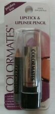 NEW COLORMATES LIPSTICK & LIPLINER PENCIL - DARK PINK FROST - FREE SHIPPING