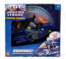 Justice League Mission Vision - Batman Motorcycle with Action Figure