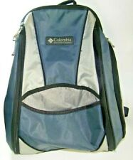 Columbia Backpack Day Pack Unisex Blue Gray Black Comfortable