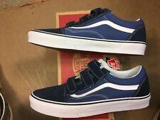 Vans Old Skool V Dress Blues/Navy Suede/Canvas Size US 13 Men's VN0A3D29OIW