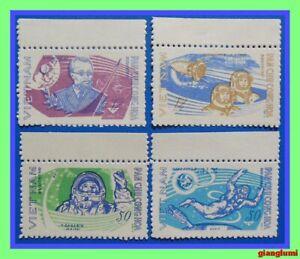 North Vietnam 1965 Space flight MNH NGAI