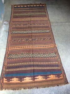 Stunning Fine Quality Sirjan Raro South West Full Soumak Authentic Kilim Rug