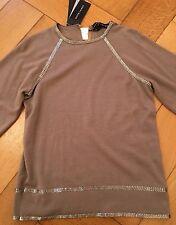 Ralph Lauren Black Label Kaschmirpullover/Bluse mit Pailletten  Gr. XS NEU