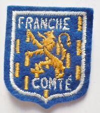 fef8df0f06d Petit Blason ancien FRANCHE COMTE Insigne Patch ecusson tissu circa  1950 1960