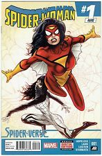 SPIDER-WOMAN #1 2ND PTG LAND VARIANT COVER