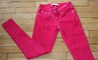 LEVIS Pantalon Velours Femme - Fille  W 24 - L 28 Taille Fr 34 Legging Réf #V137
