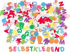 ca. 600 Filzbuchstaben Farbmix selbstklebend basteln Deko Karten Name 210255