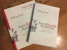 You're already amazing two book set Holley Gerth one book never used no writing