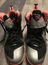 Nike Lebron 9 Mango Mens Size 11
