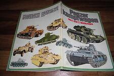 PANZERKAMPFWAGEN  1. + 2. WK - Bildband Tank Story // Heyne Bildpaperback 1974