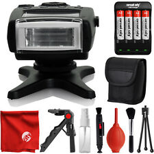 Opteka IF-500C TTL Dedicated Compact Flash w/ LCD Display & Protective Case