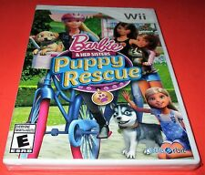 Barbie & Her Sisters Puppy Rescue Nintendo Wii *New-Sealed-Fast Shipping!