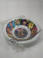 "Kellogg's 1996 ""The Best To You Each Morning!"" Plastic Cereal Bowl VTG B10"