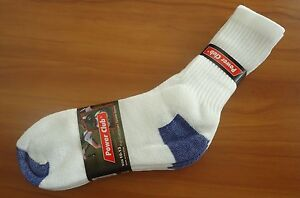4 PAIRS WHITE COTTON ABOVE ANKLE ATHLETIC SOCKS UNISEX /TOP QUALITY /SZ 10-13