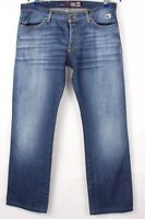 Roy Rogers Hommes Slim Jeans Jambe Droite Taille 50 (W36 L32) BCZ944