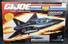 1992 vintage GI Joe LIQUIDATOR vehicle UNUSED w/ original box 1990s Hasbro toy !