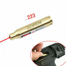 US Hunting Bore Sighter Sight 223 rem 5.56 Cartridge Red Laser Boresighter Tools
