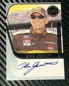 Dale Jarrett 2004 PRESS PASS SIGNINGS UPS HALL OF FAMER DAYTONA signed card