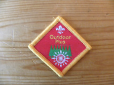 UK Scouting Cub Scout Discontinued Challenge Award (Outdoor Plus)