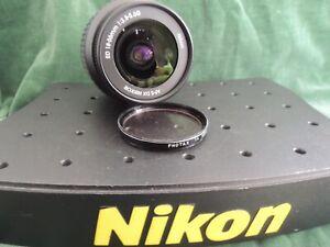 Nikon AFS  ED 18 / 55 mm f/3.5-5.6  G Zoom Lens