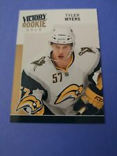Tyler Myers Rookie Parallel Card Upper Deck Victory Gold 2009-10 #303 Canucks