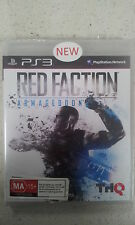 red faction armageddon ps3 new