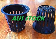 25x 2'' Basket Pot Mesh Pots Net Pots Grow Cup Hydroponics Heavy Duty