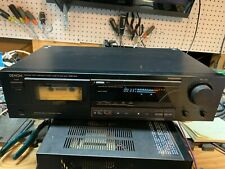 Denon Drm-540 Single Cassette Tape Deck Made in Japan.