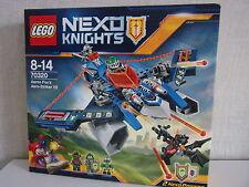 LEGO NEXO CABALLEROS 70320 AARON fox's aero-striker V2 - NUEVO Y EMB. orig.