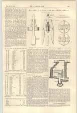 1900 enroulement machines dolcoath Mine Puits artésien Extraction Outil