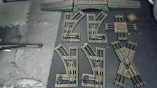 LOT of Pre-War IVES Standard Gauge [Wide] Track-4 switches/X & + CROSSING/BRIDGE