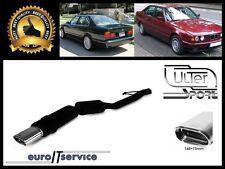 SILENCIEUX POT D'ECHAPPEMENT BMW E34 525 1987-1993 1994 1995 1996 TIP 145x75