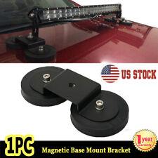 1X Powerful Strong Magnetic Base Mount Bracket Roof LED Light Bar Holder 4WD SUV