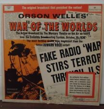 Orson Welles' War of the Worlds vinyl SY-5251 070818LLE