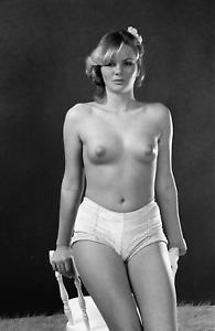 Vintage art nude model b&w negative 35mm slide  - ORIGINAL