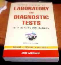 Pearson's Handbook of Laboratory and Diagnostic Tests: With Nursing Implications