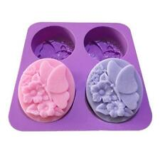 Butterfly Cake Mold Soap mold Silicone tool Mould Resistant ice lattice tray