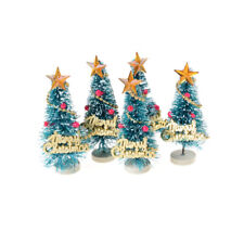 6.5cm High DollHouse Christmas Tree DIY Miniature Decor Photography Props Gift H
