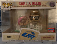 Funko Pop Disney Pixar's UP Carl And Ellie 2020 NYCC SHARED Sticker IN HAND