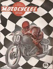 MOTO _ MOTOCYCLES revue bi-mensuelle _ N. 36 - MAI 1950 _ 500 B.M.W. R. 51/2